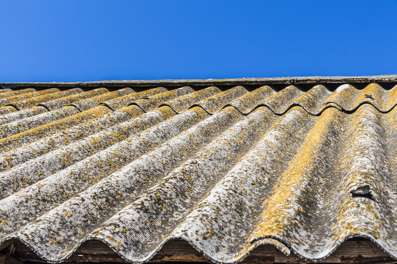 Asbestos Garage Roof Removal Costs Basildon Essex
